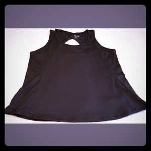 OLD NAVY Black Active GO DRY Fitted Tank